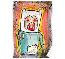Finn the zombie Poster