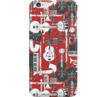 weave jazz red iPhone Case/Skin