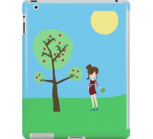 Girl and the tree iPad Case/Skin
