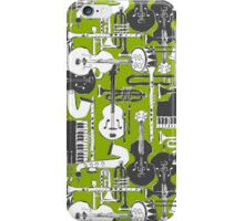 weave jazz olive iPhone Case/Skin