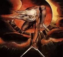 William blake the Great Architect  by bluefrog