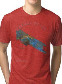 Refusal to Die! Tri-blend T-Shirt