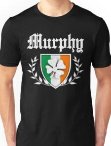 Murphy Family Shamrock Crest (vintage distressed) Unisex T-Shirt