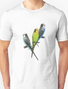 Thee Parakeets Unisex T-Shirt