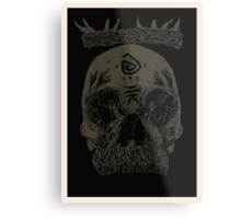 You know Carcosa? [Dark] Metal Print