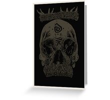 You know Carcosa? [Dark] Greeting Card