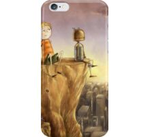 A Boy and His Robot iPhone Case/Skin