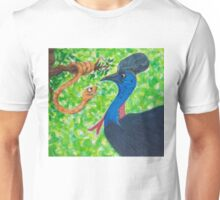 Taipan meets Cassowary; inspirational quotes Unisex T-Shirt