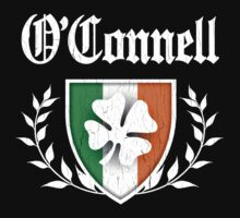 O'Connell Family Shamrock Crest (vintage distressed) One Piece - Short Sleeve
