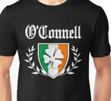 O'Connell Family Shamrock Crest (vintage distressed) Unisex T-Shirt