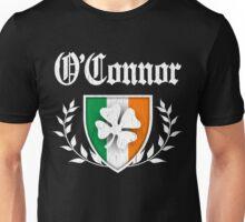 O'Connor Family Shamrock Crest (vintage distressed) Unisex T-Shirt