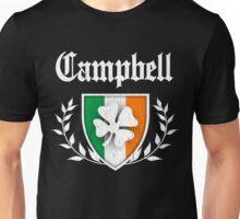 Campbell Family Shamrock Crest (vintage distressed) Unisex T-Shirt