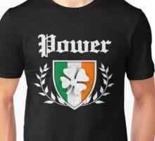 Power Family Shamrock Crest (vintage distressed) Unisex T-Shirt