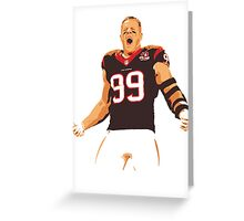 JJ Watt - Houston Texans Greeting Card