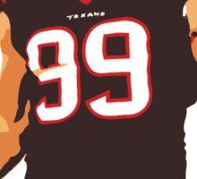 JJ Watt - Houston Texans Sticker