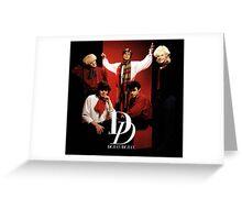 Duran Duran Band Greeting Card