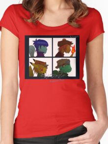 Starterz - Pokemon-Days Women's Fitted Scoop T-Shirt