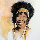 Mother of the Blues - Ma Rainey by brokenrockart