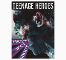 TEENAGE HEROES - SHOUT T-SHIRT by MusoMagicMerch