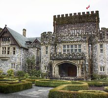 Hatley Castle - Side view by Phil Stuebe