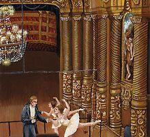 In the foyer de la danse by rjdaae