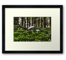 We're In The Green Framed Print