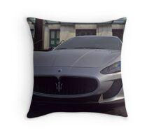 2012 Maserati GranTurismo Throw Pillow
