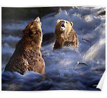 Fishing Alaska Poster