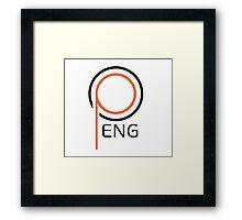 PENG  Framed Print