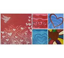 Heart Collection Photographic Print