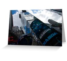 Neon Lights and Ads - Times Square, Manhattan, New York City, USA Greeting Card