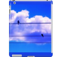 Music Bird Notes iPad Case/Skin