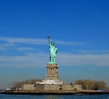 Statue of Liberty by KatMaria16