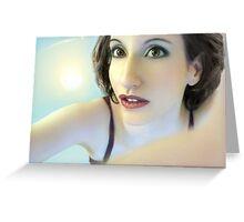 Truth Seeker - Self Portrait Greeting Card