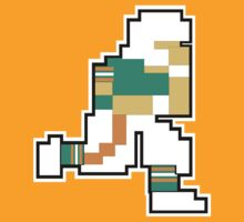 Nintendo Tecmo Bowl Miami Dolphins Dan Marino by jackandcharlie