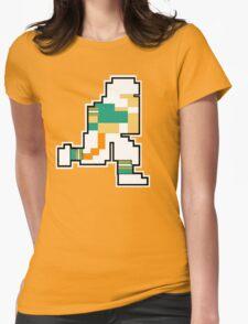 Nintendo Tecmo Bowl Miami Dolphins Dan Marino Womens Fitted T-Shirt