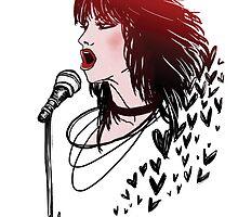 Joan Jett & The Blackhearts by Karen Alarcon