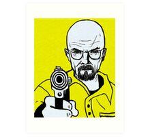 Mr.White Art Print