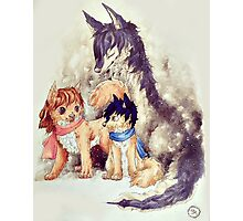 Wolf Children Photographic Print
