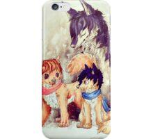 Wolf Children iPhone Case/Skin