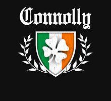 Connolly Family Shamrock Crest (vintage distressed) Unisex T-Shirt