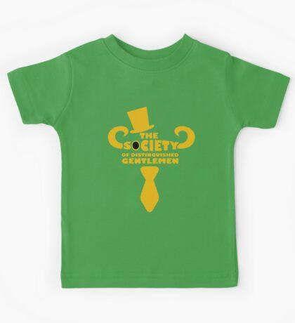 Top Hat and Tie Kids Tee