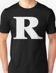 Rated R White Ink T-Shirt