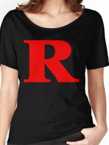 Rated R Red Ink Women's Relaxed Fit T-Shirt