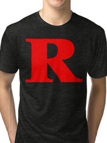 Rated R Red Ink Tri-blend T-Shirt