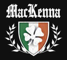 MacKenna Family Shamrock Crest (vintage distressed) Kids Clothes