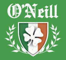 O'Neill Family Shamrock Crest (vintage distressed) One Piece - Short Sleeve