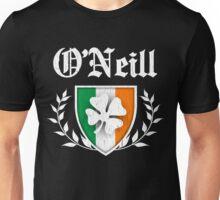 O'Neill Family Shamrock Crest (vintage distressed) Unisex T-Shirt