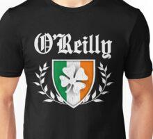 O'Reilly Family Shamrock Crest (vintage distressed) Unisex T-Shirt