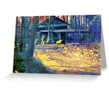 Sunset Shack Greeting Card